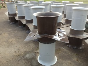 Poultry Ventilation Chimneys