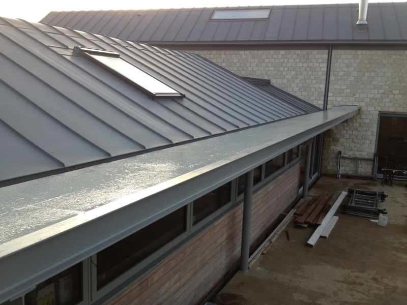 Fibreglass Flat Roofs And Grp Roofing Services In Norfolk