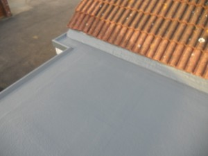 GRP Extension Roof