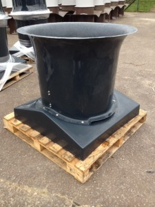 GRP Square to Round Chimney
